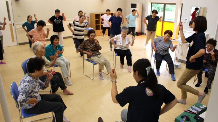 ご当地健康体操39「天の川体操」福島県天栄村