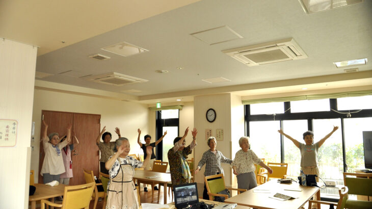 ご当地健康体操46「OH!やまざき体操」京都府大山崎町