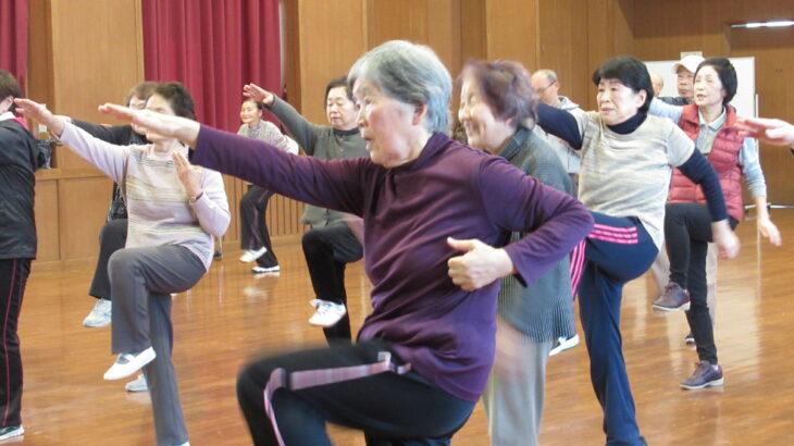 ご当地健康体操74「大豆島(まめじま)甚句体操」長野県長野市大豆島