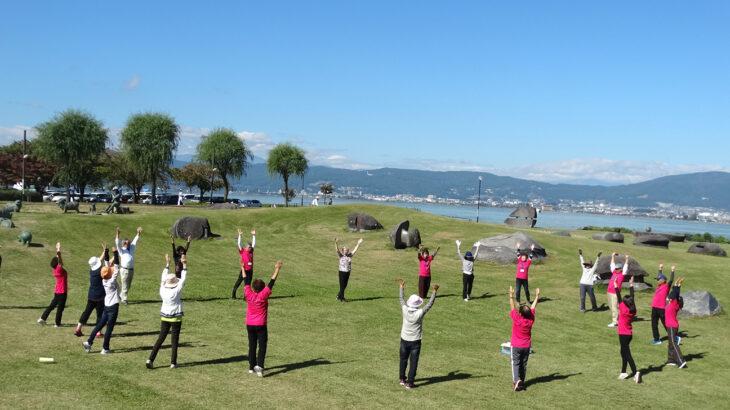 ご当地健康体操91「すわっこいきいき体操」長野県諏訪市